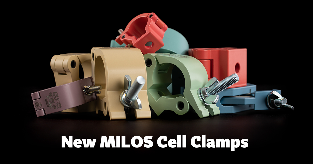 New MILOS Cell Clamps