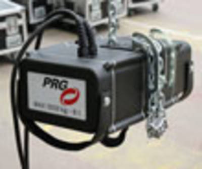 PRG XL Video invests in EXE-Rise hoists