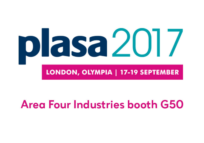 Come to see us at PLASA!