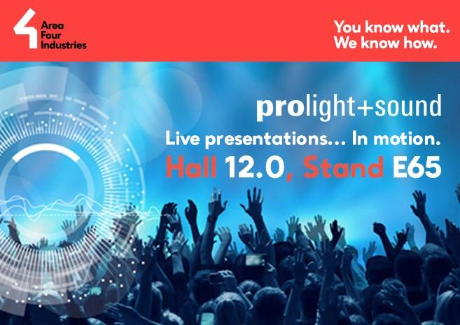 Dynamic Live Presentations at Prolight + Sound