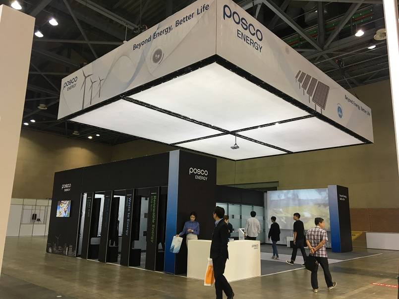 MILOS Xtruss adds some flair to the Korea Energy Show